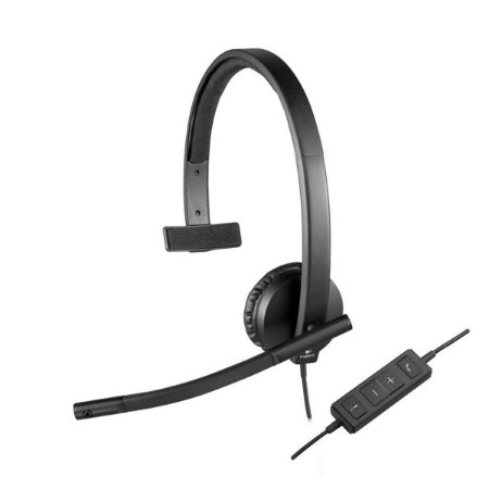 Headset Monoauricular H570E Logitech