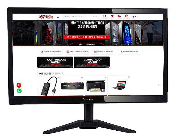 Monitor BrazilPC LED 17.1' HD 60Hz HDMI VGA 17BPC-KAN
