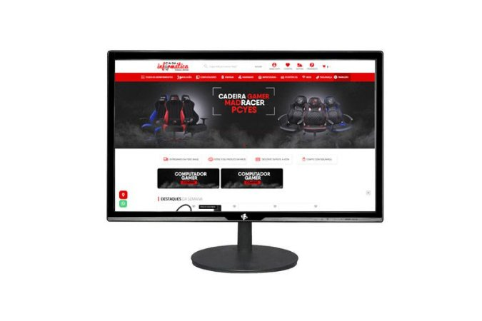 """Monitor LED 19"""" VGA HD 1440p TRS-XIE-V Tronos"""