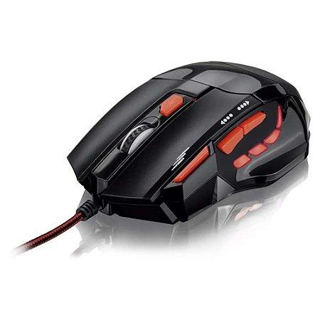 Mouse Gamer Fire Button USB 2400DPI - Multilaser