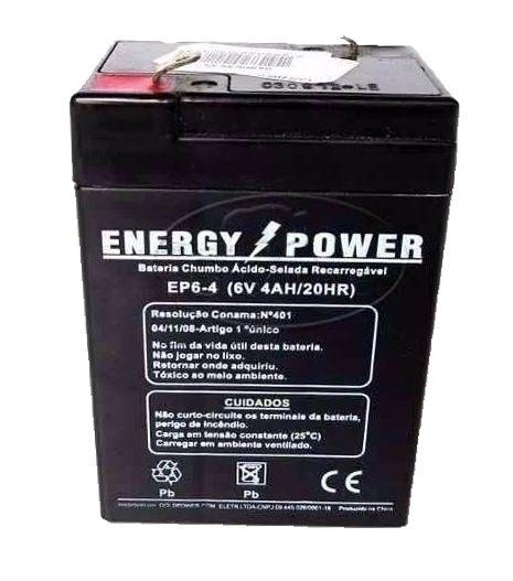 Bateria 6V 4AH ENERGY POWER