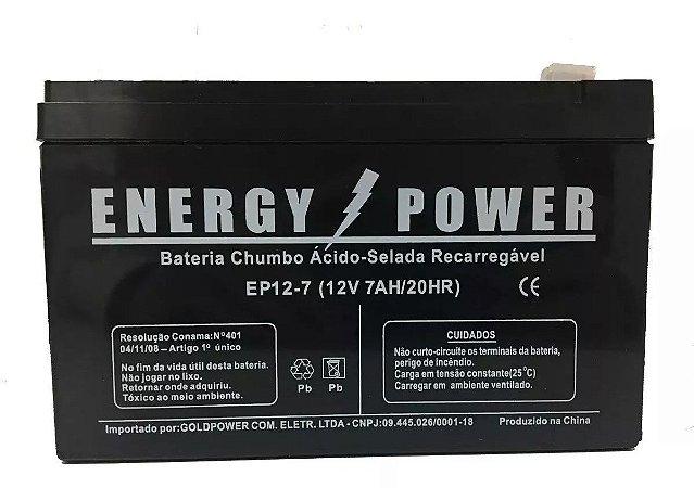 Bateria 12V 7Ah ENERGY POWER