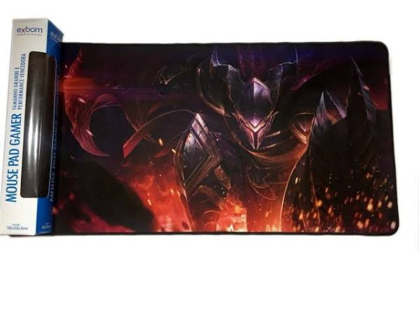 Mouse PAD Gamer Guerreiro Chama 700x350mm MP-7035C Exbom