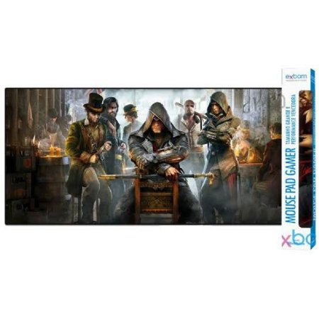 Mouse Pad Gamer Assassins Creed 900x400 MP-9040A Exbom