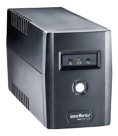 NoBreak Intelbras XNB 720VA MONO 220V c/1 Bateria 12V 4 Tomadas