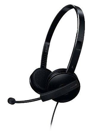 Headset Multimídia Preto SHM3550 Philips