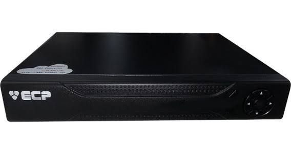 DVR 4 canais ECP Hibrido P04V4 VGA/HDMI AHDM HD 720p  Nuvem Digital e Analógico