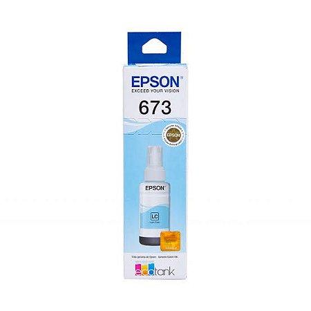 Refil de Tinta Epson T673520 Ciano Claro 70ml