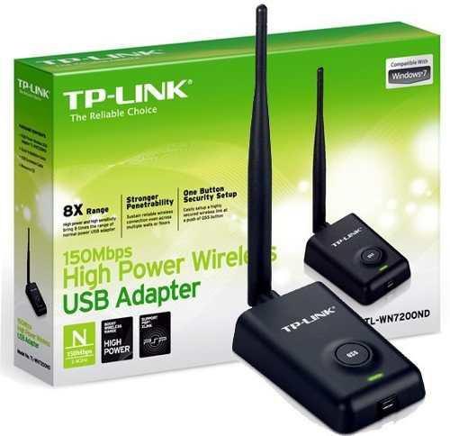 Adaptador Wireless USB 150Mbps 1 Antena TL-WN7200ND TP-Link