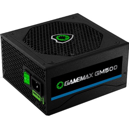 Fonte Real 500W GM500 Selo 80 Plus Bronze Gamemax