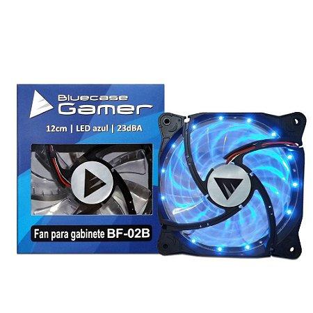 Cooler Gabinete Bluecase BF-02B LED Azul