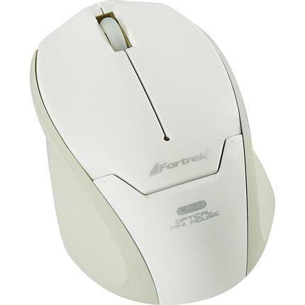 Mouse Notebook USB Retrátil 1000dpi Preto Fortrek