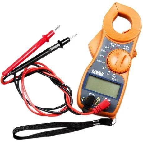 Alicate Amperimetro Digital AC/DC PZ-MT87 Exbom