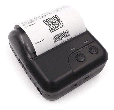 Mini Impressora Térmica Bluetooth Portátil ITE-P80HBT