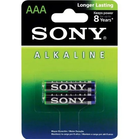 Pilhas Alcalina Sony AM4L-B2D AAA 2 Unidades