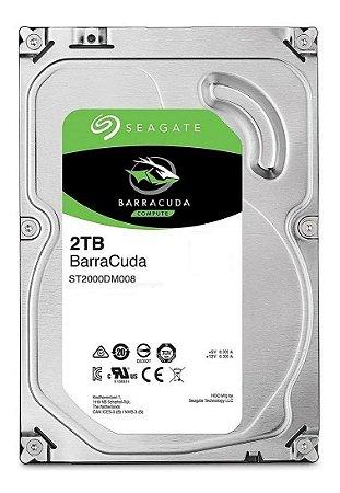 "Hardk Disk 3.5"" Sata III 2TB 7200rpm Barracuda Seagate ST2000DM005"