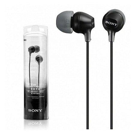 Fone de Ouvido Estéreo MDR-EX15LP Sony