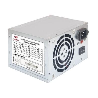Fonte ATX 200W Real Sem Cabo PS-200V4 C3Tech
