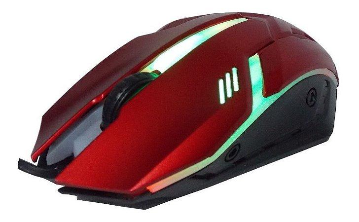 Mouse Gamer USB 1600 DPI Vermelho KP-V15 Knup