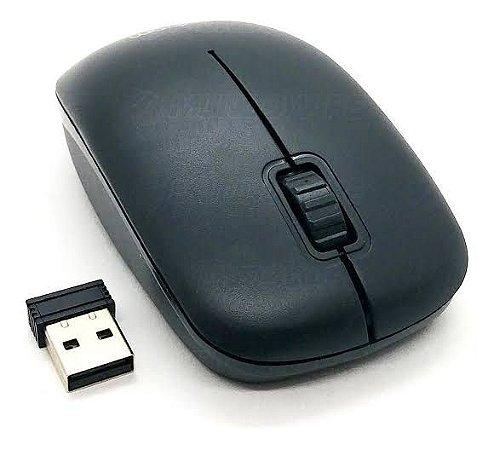 Mouse Sem Fio Preto MS-S22 Exbom