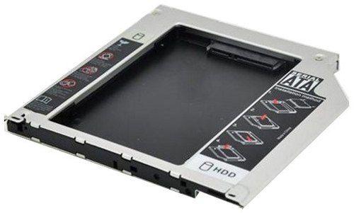 Adaptador Caddy HD SATA 2.5 9.5mm HDCA-S095 Exbom