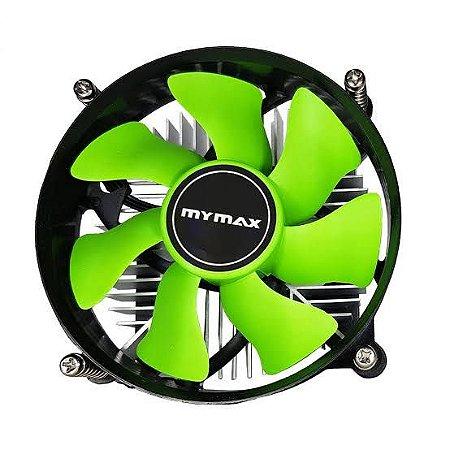 Cooler para Processador Intel 1155/1156P Verde MYMax