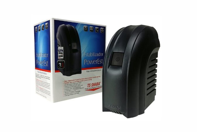 Estabilizador Powerest 500VA BIVOLT/115V 4 TOMADAS TSSHARA