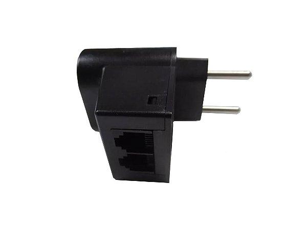 Protetor de Surtos Clamper Pocket 10A Bivolt Bipolar + Proteção Telefônica RJ11