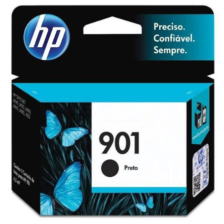 Cartucho Original HP 901 Preto 4,5ml CC653AB
