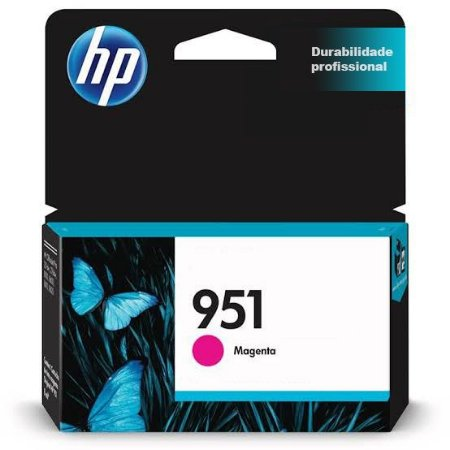 Cartucho Original HP 951 Magenta 8ml CN051AB