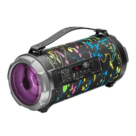Caixa de Som Bluetooth 120W Bazooka Paint Blast SP362 Multilaser
