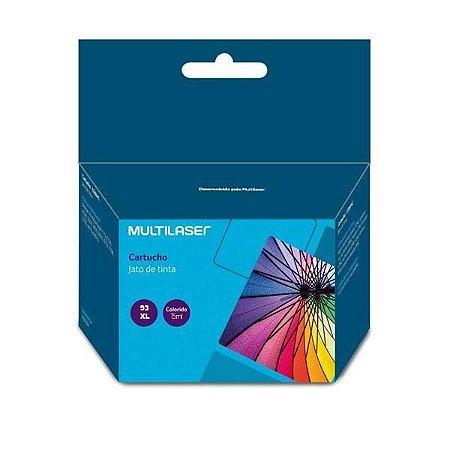 Cartucho Compatível HP 93XL Colorido 15ml C0039