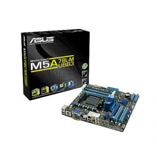 Placa Mae ASUS DDR3 M5A78L-M USB 3.0 AM3+ 125W10