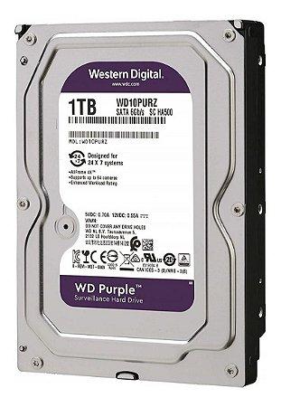 HD Purple Western Digital 1TB CFTV WD10PURX