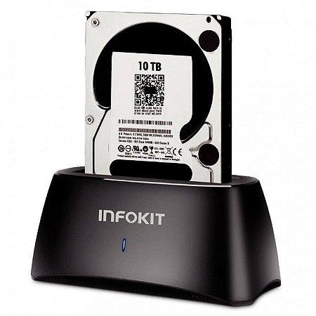 """Dock Station 2.5 3.5"""" SATA III USB 3.0"""
