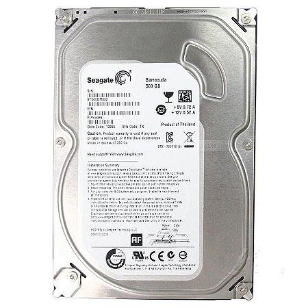 "Hardk Disk 3.5"" SATA III 500GB 7200RPM Barracuda ST500DM002"