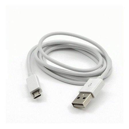 Cabo Micro USB 1 Metro Branco CB-M10WH C3Plus