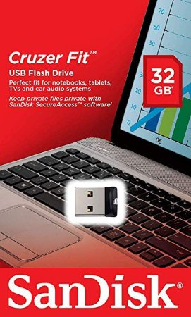 Pen Drive 32GB USB 2.0 Cruzer FIT Sandisk