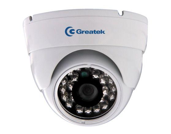 Câmera Dome Infravermelho IR 20m IP66 24 Leds Greatek