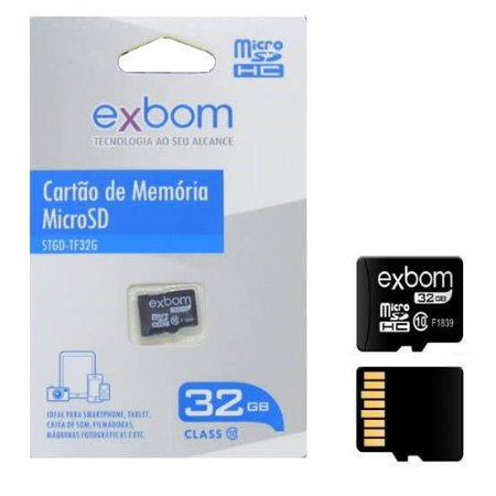Cartão de Memória MicroSD 32GB Classe 10 STGD-TF32G