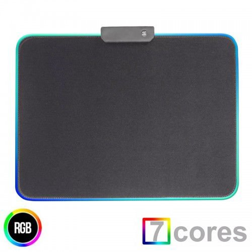 Mouse Pad Gamer RGB 11 Efeitos 350x250mm MP-LED2535 Exbom