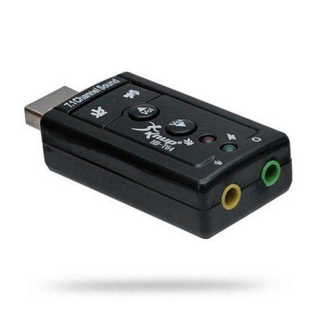 Adaptador Placa de Áudio USB 7.1 P2 c/Volume HB-T64 Knup