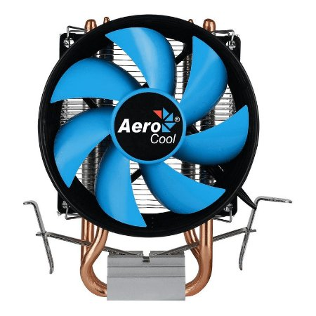 Cooler Fan Verkho2 Intel/AMD PWM 4 Pinos Aerocool