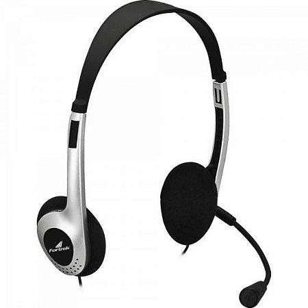 Headset Multimídia Estéreo HBL101 P2 Preto Fortrek