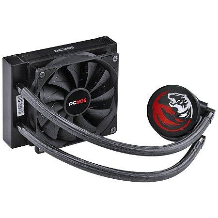 Water Cooler Sangue Frio 2 Single Fan 120MM Intel/AMD TDP 250W PCYes