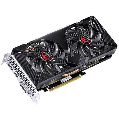 Placa de Vídeo GTX 1660 Dual OC 6GB DDR6 128bits DP/HDMI/DVI PP1660SOC19214G6