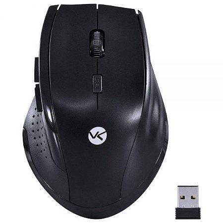 Mouse Hibrido Sem Fio Bluetooth + Wireless Preto DM120 Vinik