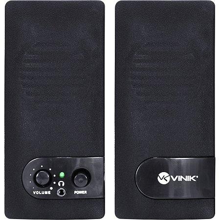 Caixa de Som 2.0 One vs 202 USB 6W RMS c/Retorno P2 29675 Vinik