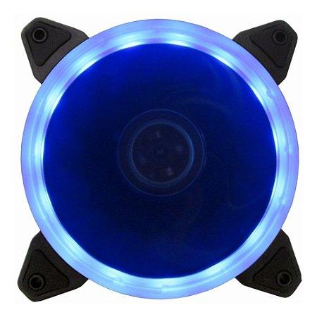 Cooler Gabinete 120x120mm Bluecase BFR-05R LED Azul