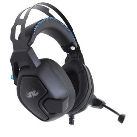 Headset Gamer 7.1 RGB Microfone Articulado KP-487 Knup